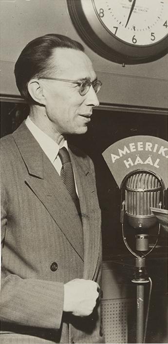 Jaan Kitzberg (1904–1988), the head of Voice of America's Estonian-language programs.