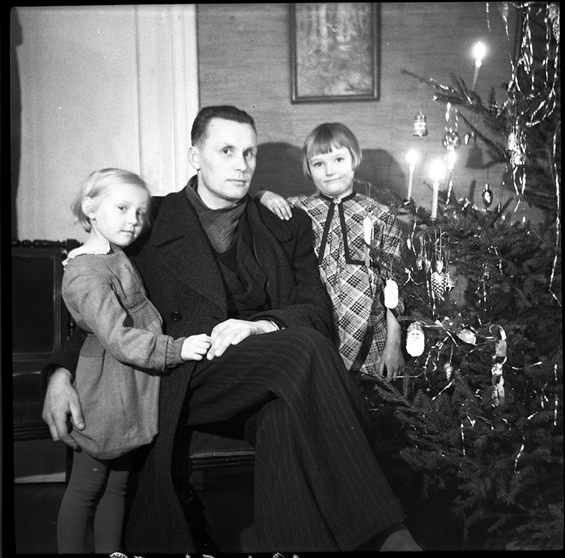 Christmas at the Vilde family home, 1951.