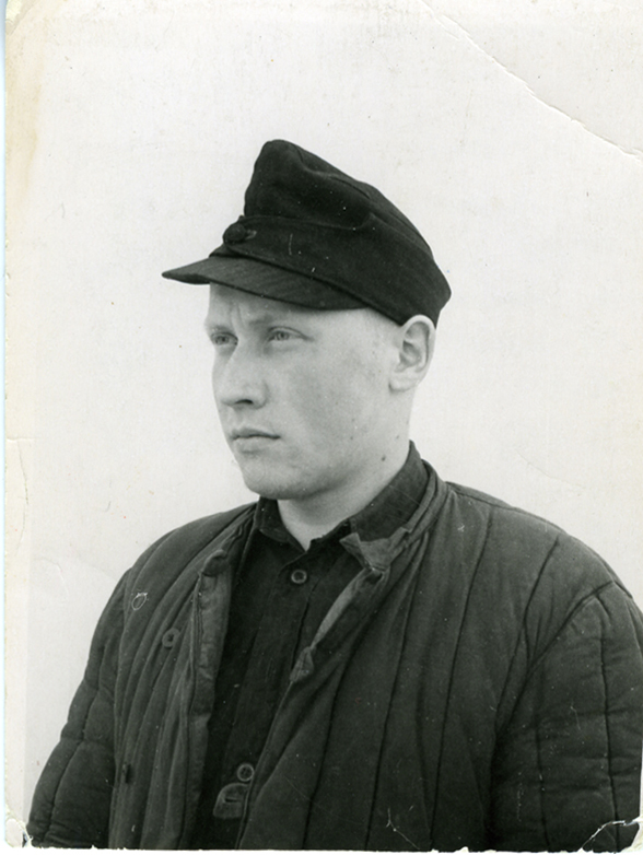 Enn Tarto (b. 1938) in the Mordovian prison camp in 1958