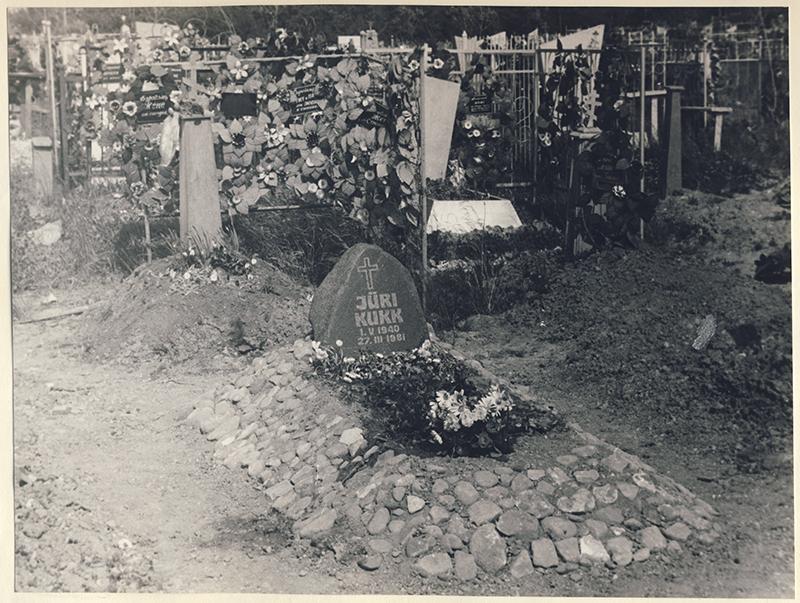 Grave in Vologda of Jüri Kukk
