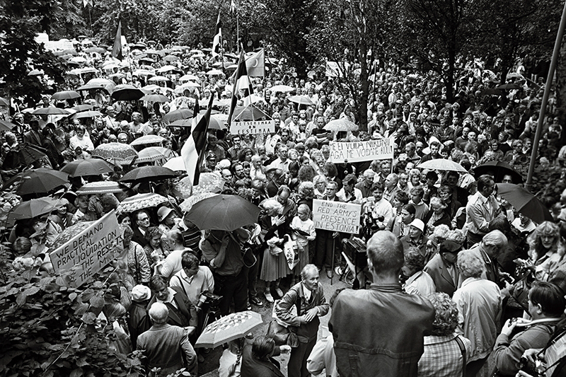 The Hirvepark rally. 23 August 1987.